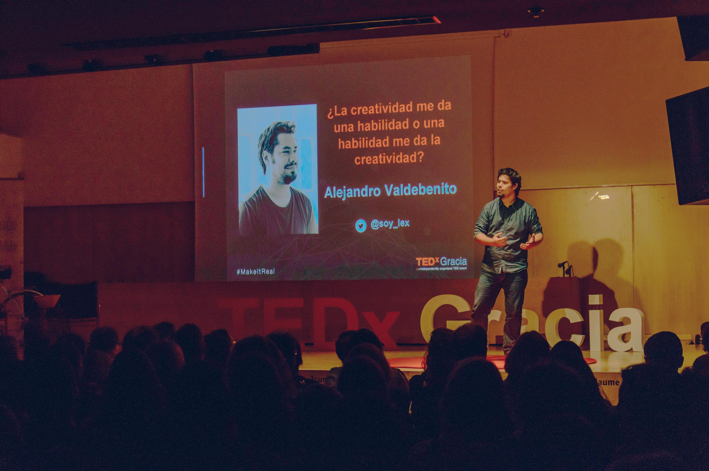 Hablando en TEDx